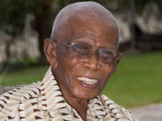 James Sisnett (1900 - 2013) - world's second oldest man.