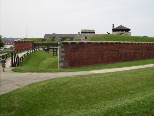 Outer Walls of Old Fort Niagara