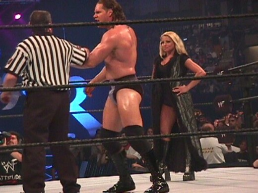 At the same time that Trish was the manager of T&A she also briefly managed Val Venus