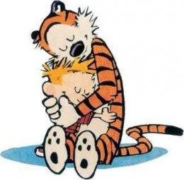 Watterson's Calvin and Hobbes: Touching, masterful artwork.