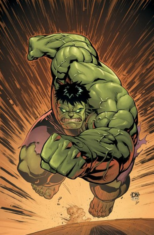 Hulk bout to smash!