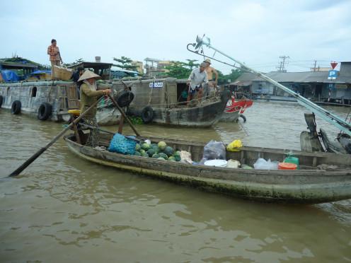 Floating Markets, Mekong Delta