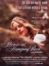 A movie poster for Picnic At Hanging Rock.