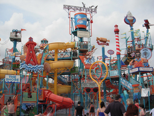 Water parks and amusement parks are great sources of family entertainment.  Getting a great deal on admission is almost as fun as going there!