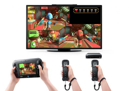 Many ways to play with Nintendo's latest system... Just pray it gets the third-party support it needs