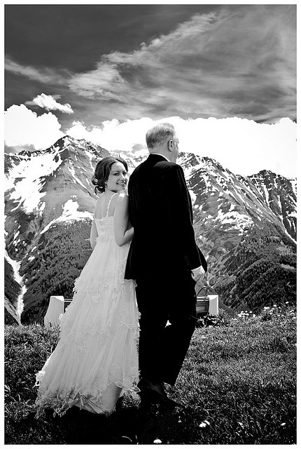 Wedding In The Alps-Stunning Photo Backdrop