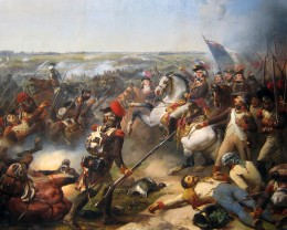 Battle of Fleurus, June 26, 1794, French troops led by Jourdan beat back the Austrian army