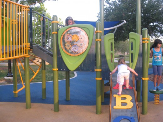 Riverwalk playground