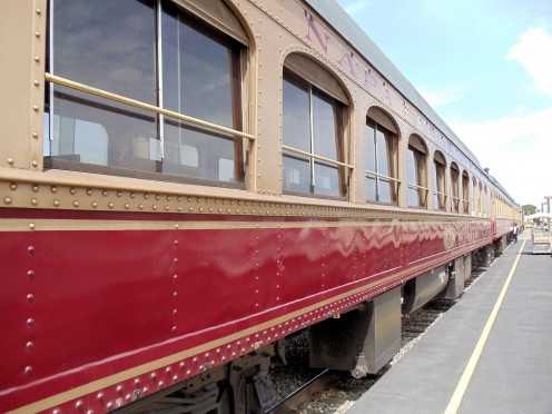Take the Wine Train and experience a direct rumble into the vineyards!