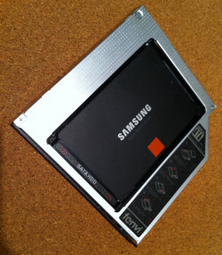 Dual hard drive laptop - optical drive to hard drive conversion