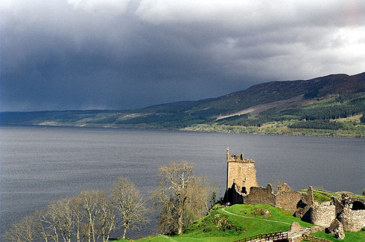 Loch Ness and Urquart Castle - 'Nessie' might not be the only strange creature hiding in Scotland's lochs.