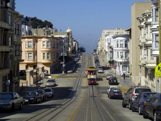 San Francisco public transit.