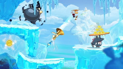 Even though the visuals have been revamped, the level concepts and zone themes remain loyal to the original Rayman.