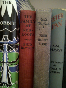 'The Family at Red Roofs' still sits on my bookshelf with some other beloved childhood favourites.