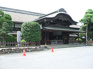 Honmaru Goten, the only surviving segment of the Kawagoe Castle