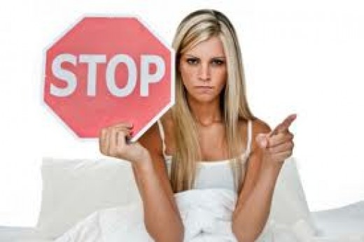 Picture of a woman who is angry because of the discrimination of women and is asking everyone to stop gender prejudice