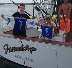 A Billfish Grand Slam in Hatteras N.C.