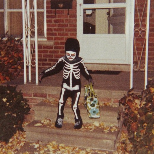 Boys want to scare you on Halloween, they don't want to dress up as cute bunnies.