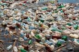 plastic bottles polluting our waterways