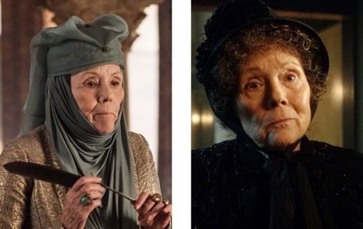 Diana Rigg in Game of Thrones and Doctor Who