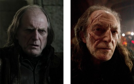 David Bradley  in Game of Thrones and Doctor Who