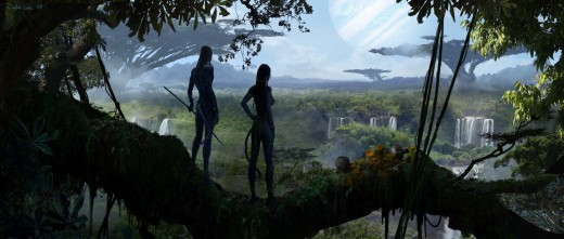 Entire worlds can be created and rendered through use of CGI, demonstrated, in James Camerons, Avatar.