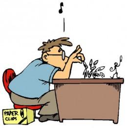 Procrastinators easily get distracted.