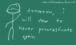 Procrastinators share many of the same characteristics.