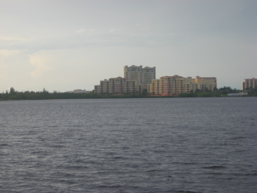 view of the Manatee River