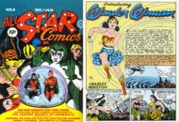 From the inventor of the lie detector Charles Moulton , here comes Wonder Woman.
