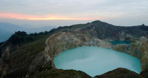 Mount Kelimutu Lakes, Flores