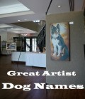 Great Artist Dog Names