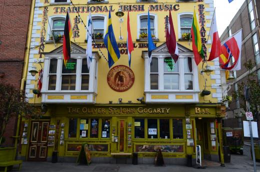 'Temple Bar- Dublin' from Tony DeLorger