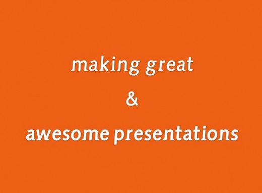 Business Presentations