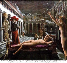 Sleeping Venus (1944) Paul Delvaux