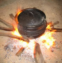 Dutch ovens are perfect for campfires, as well as the home kitchen