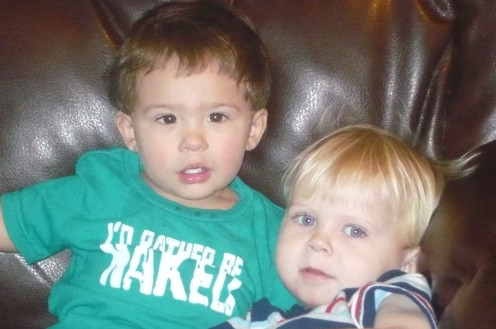 My grandsons - cousins and forever friends!