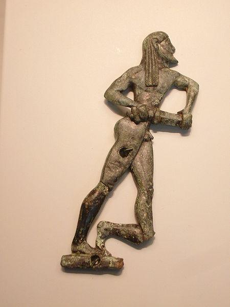 A Spartan swordsman, 550 BC.