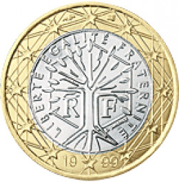 French Euro coin design