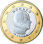 Monégasque Euro coin design