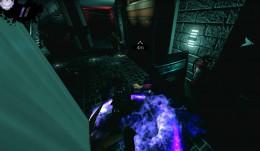 Dark use Vampiric Powers to take down enemies.