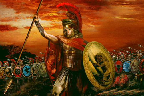 Alexander was one of the greatest emperors.