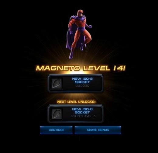 Magneto level 14!