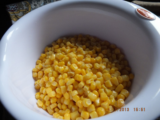 Fresh or frozen corn. Either works great!