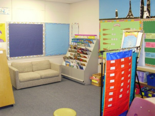A picture of my first classroom!