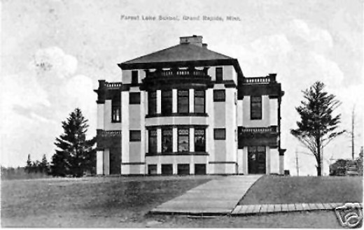 Forest Lake School 1930's.  My children's father attended grade school here.