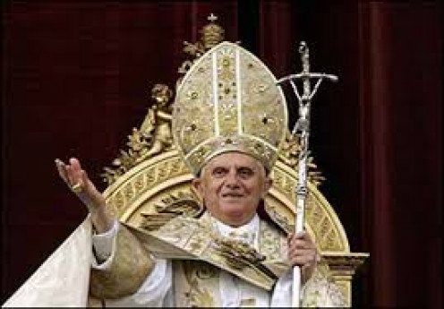 The very important Pope Benedict XVI