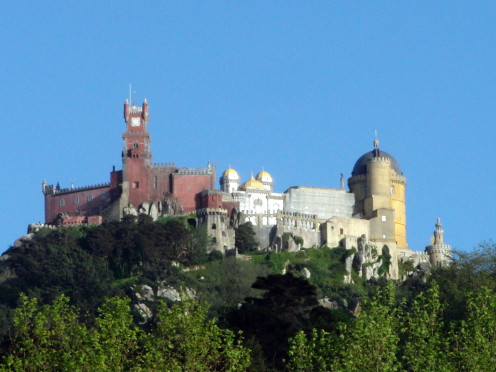 The Sintra Pena Palace After Feeling Lucky with Picasa