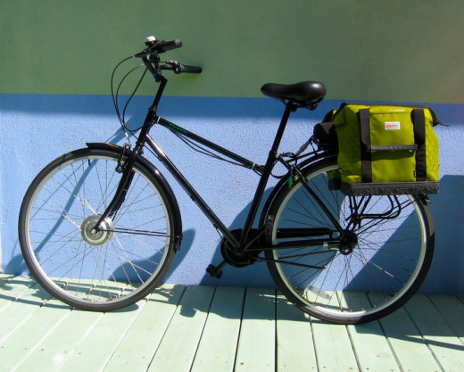 This bike was converted with a Hill Topper Kit from Clean Republic