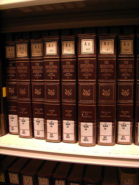 A set of Encyclopedia Americana
